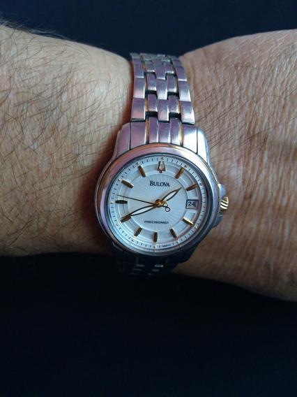 Relógio Bulova Precisionista Feminino De Dois Tons 98m112