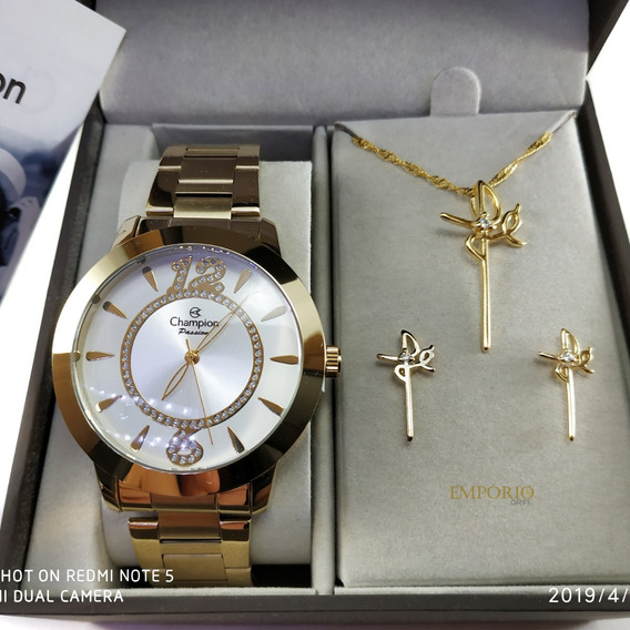 Relógio Champion Feminino A Prova D