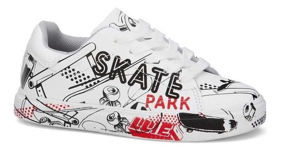 Sneaker Urbano Niño Estampado Skate Casual 2694108