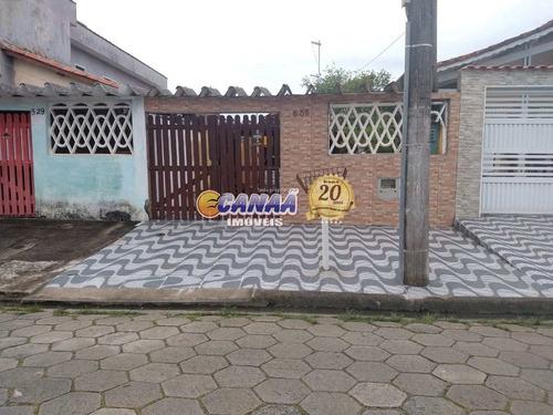 Casa Com 2 Dorms, Jussara, Mongaguá - R$ 180 Mil, Cod: 8280 - V8280