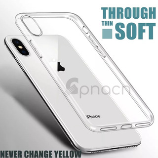 Case iPhone X Transparente