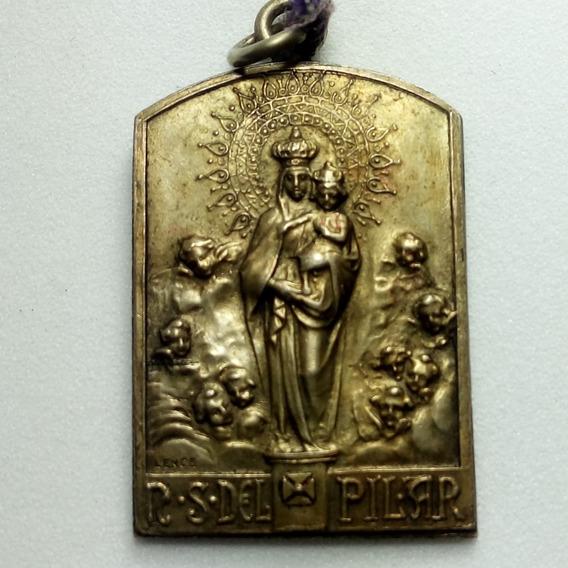 Medalla Virgen Del Pilar De La Asociación Española