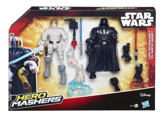 Star Wars Hero Figuras Muñecos Mashers Batalla Origin Hasbro
