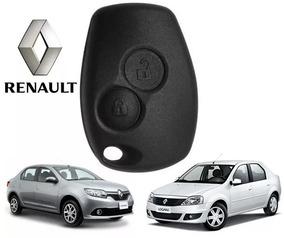 Par(2) Capas Chave Telecomando Renault Logan Alarme Original