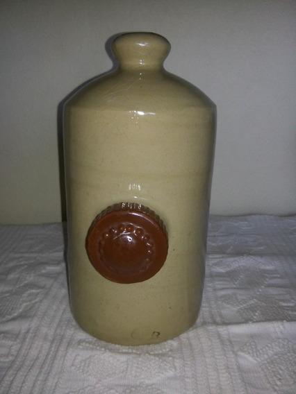 Antiguo Calentador Para Pies De Ceramica