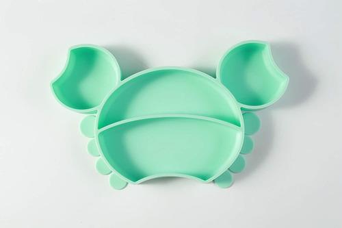 Imagen 1 de 5 de De Silicona Mia Li (verde Aguamarina)  placa De Succión E...