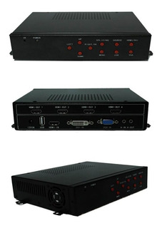 Controlador De Pantallas - Video Wall Usb/hdmi/vga/dvi Gtia