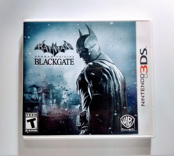 Batman Arkham Origins Blackgate 3ds - Impecável Americano !
