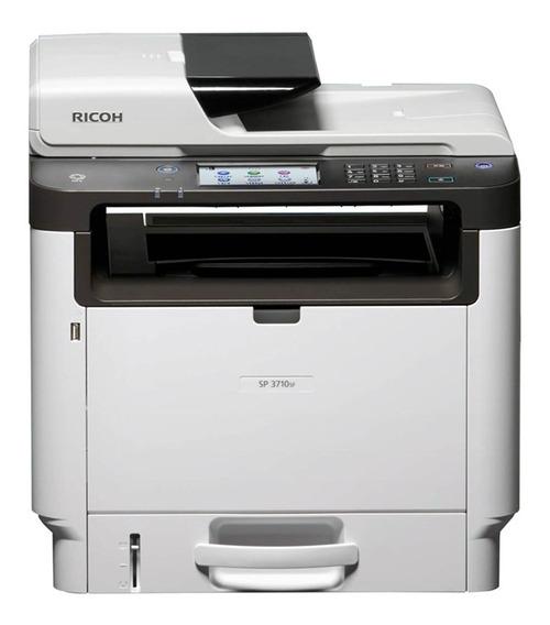 Impressora Laser Multifuncional Monocromática Ricoh Sp3710sf