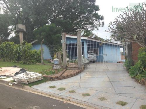 Chácara Com 3 Dormitórios À Venda, 1030 M² Por R$ 720.000,00 - Vale Verde - Valinhos/sp - Ch0029