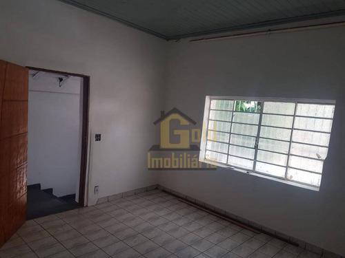 Casa Com 3 Dormitórios À Venda, 126 M² Por R$ 270.000 - Centro - Ribeirão Preto/sp - Ca1128