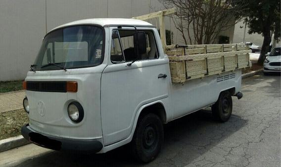 Volkswagen Kombi Pick-up Carroceria De Madeira