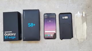 Celular Smartphone Samsung Galaxy S8 Plus Duos Tela Rachada