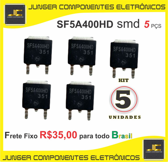 Sf5a400hd - Diodo Sf5a400hd - Sf5a400hd Kit Com (5) Unidades