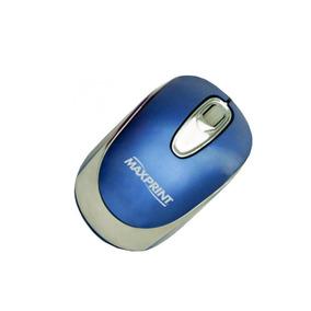 Mouse Usb Óptico Azul 602740 - Maxprint