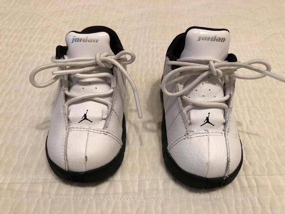 Zapatillas De Niños Nike Air Jordan. Poco Uso!!