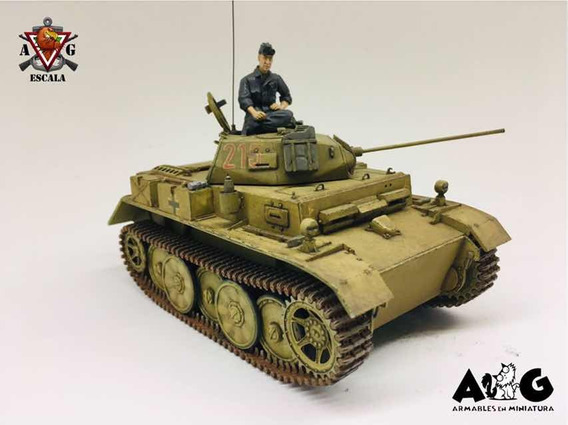 Vehículo Aleman Panzer Ii Luchs 1/35