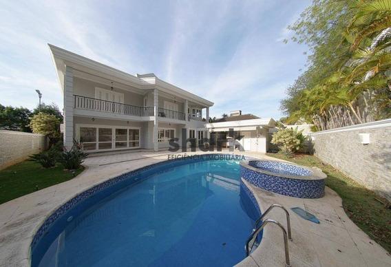 Casa Com 5 Dormitórios Para Alugar, 800 M² Por R$ 15.000/mês - Alphaville - Santana De Parnaíba/sp - Ca0191