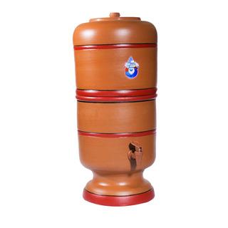 Filtro De Barro 6 Litros + Vela Tripla Ação Esterilizante