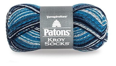 Patons Kroy Socks Hilo Para Calcetines(1) Calibre Súper