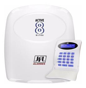 Central De Alarme Monitorável Active 8 Ultra + Teclado Jfl