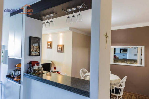 Apartamento Com 3 Dormitórios À Venda, 85 M² Por R$ 585.000 - Bosque Dos Eucaliptos - São José Dos Campos/sp - Ap7294