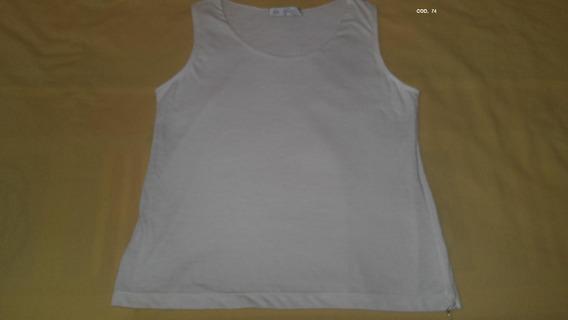 Musculosa De Modal Elastizado (doble) Para Mujer
