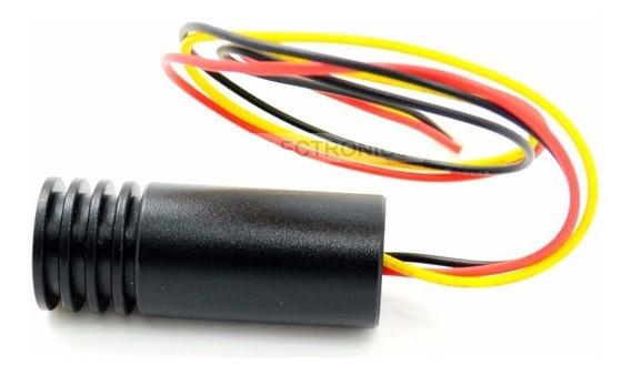 Módulo Láser Diodo Rojo Foco Ajustable Emisor Infrarrojo 30m