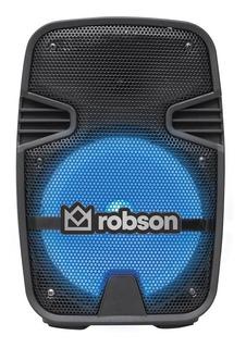 Bocina Bafle Amplificado Bluetooth Usb Aux Fm Mic 8 Pulgadas