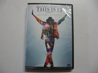 Dvd This Is It Michael Jackson