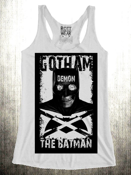 Gotham Batman Demon Tank Top Rott Wear