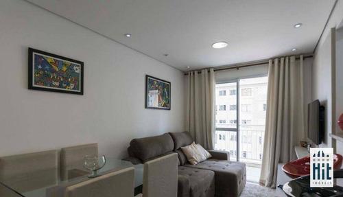 Imagem 1 de 30 de Apartamento À Venda, 51 M² Por R$ 350.000,00 - Vila Das Mercês - São Paulo/sp - Ap4108