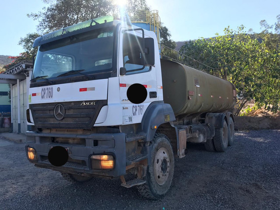 Mb 4144 Axor 6x4 Ano 2011 Tanque Pipa 20 Mil Litros