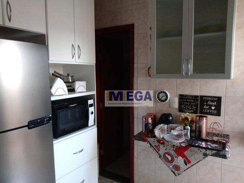Imagem 1 de 10 de Apartamento Com 3 Dormitórios À Venda, 110 M² Por R$ 480.000 - Centro - Nova Odessa/sp - Ap4990