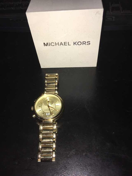 Reloj Michael Kors Sawyer Dorado