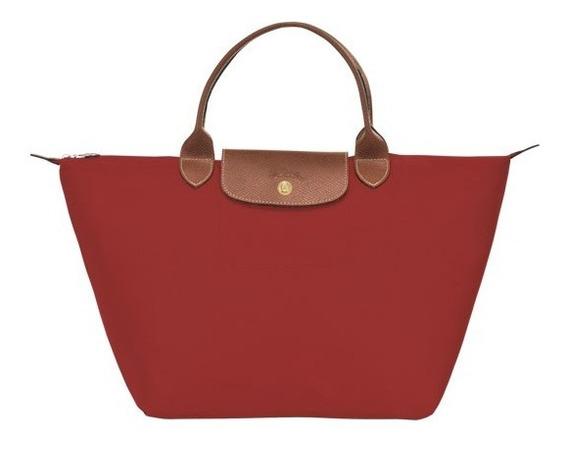 Le Pliage Bolso De Mano M Rojo, Longchamp