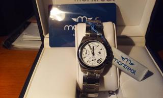 Reloj Montreal Af110 Con Calendario Y Cronometro