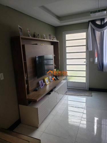 Imagem 1 de 30 de Sobrado Com 2 Dormitórios À Venda, 54 M² Por R$ 297.000,00 - Jardim Nova Cidade - Guarulhos/sp - So0794