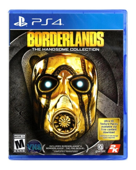 Borderlands: The Handsome Collection - Ps4 - Mídia Física