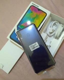Celular Samsung Galaxy M20 Preto