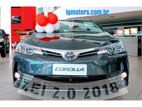 Toyota Corolla Xei 2.0 Flex 17/18 $96,9k Varias Cores
