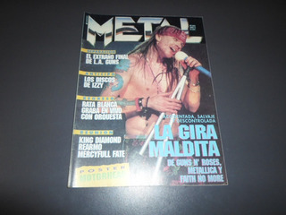 Metal 203 Motley Crue Rata Blanca Scorn Faster Pussycat Izzy