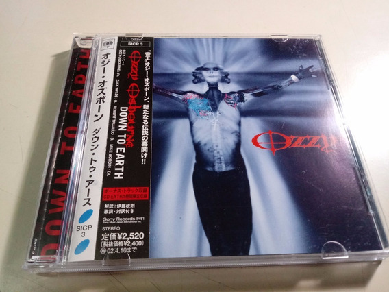 Ozzy Osbourne - Down To Earth - Made In Japan
