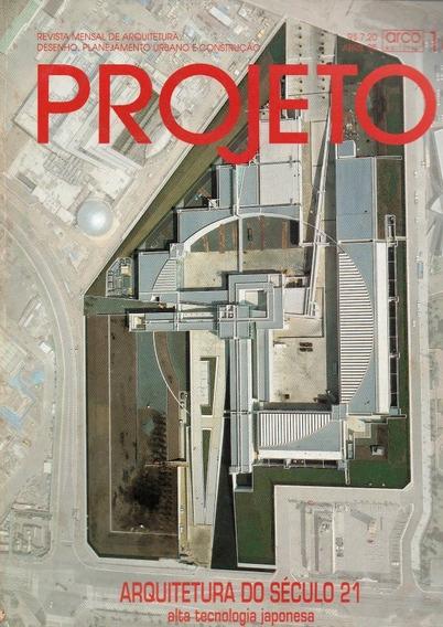 Revista Projeto Arquitetura Do Século 21 Abril /95 Nº184