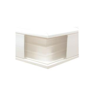 Esquinero Exterior Color Blanco De Pvc Auto Extinguible, P