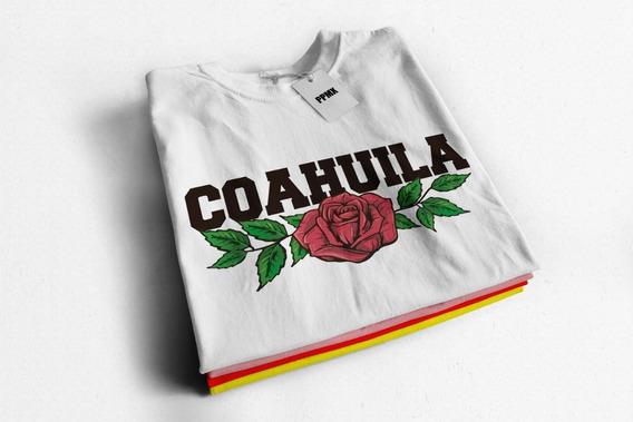 Playera De Moda Niña Y Dama Coahuila Lover