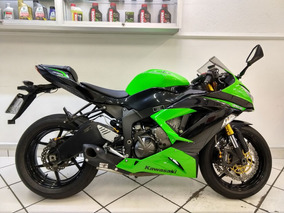 Kawasaki Ninja Zx6r 636 Verde 2013 - Target Race