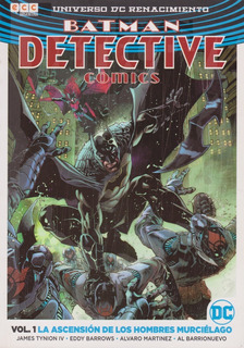 Comic Batman Detective Vol 1 Ascensión De Los Hombres