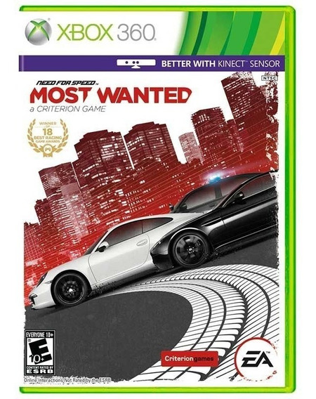 Need For Speed Most Wanted Xbox 360 Mídia Física Lacrado Nfe