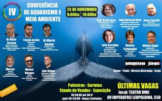4 Conferencia De Aquarismo E Meio Ambiente - Convite